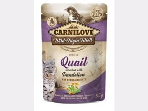 Carnilove quail pouch