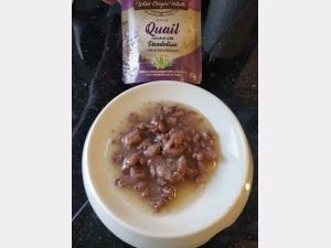 Carnilove quail pouch geopend