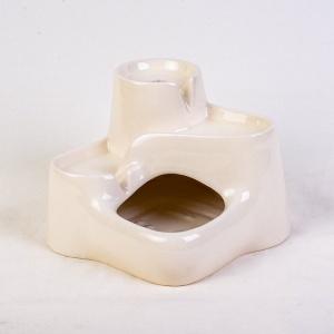 Miaustore kleine keramische drinkfontein melk