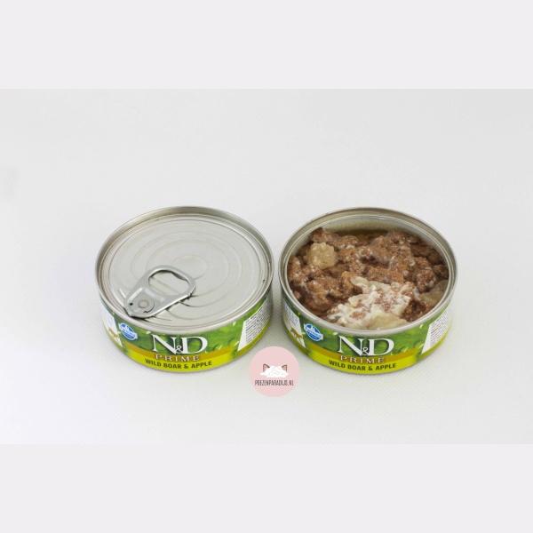 Farmina N&D Prime Wildzwijn & Appel geopend