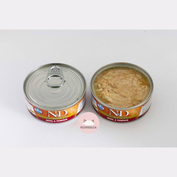 Farmina N&D Pumpkin Kwartel & Pompoen geopend