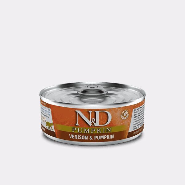 Farmina N&D Pumpkin hert & pompoen natvoer kat