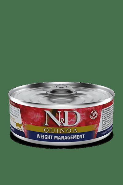 Farmina N&D Quinoa Weightmanagement natvoer kat